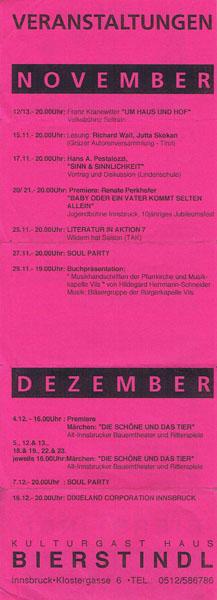 1992-11-02-bierstindl programmflyer