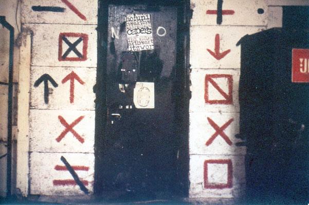 akt eingang von innen 1986