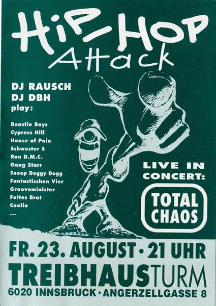 1991-08-23-treibhaus-HiphopAttack#3-Total Chaos-Rausch-DBH