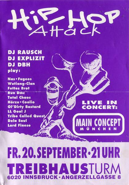 1991-Treibhaus-HiphopAttack#4-Main Concept-Rausch-Explizit-DBH