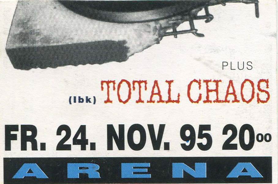 1995-11-24-arena wien-Total Chaos