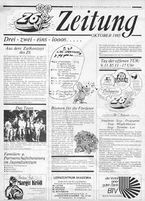 z6 zeitung 1985-10
