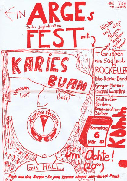 1982-03-06_komm_arge tiroler jugendzentren fest_karies buam
