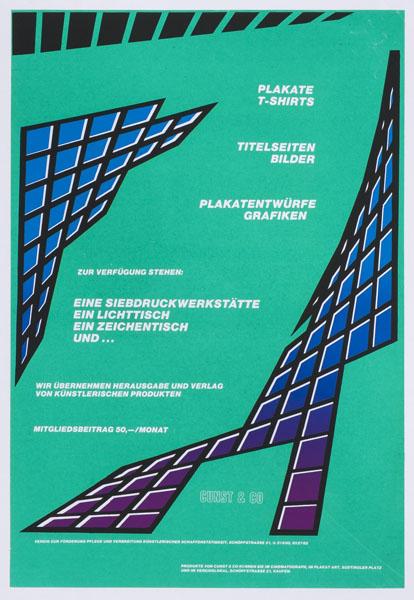 1984-09-01_cunst&co_werbeplakat schoepfstrasse 21