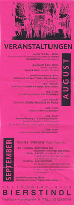 1993-08-11-bierstindl programmflyer