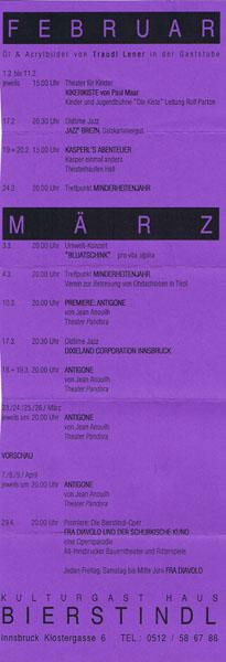 1994-02-01-bierstindl programmflyer