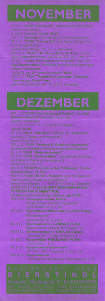 1994-11-01-bierstindl programmflyer