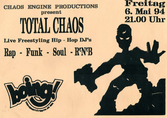 1994-05-06 - Boing - Total Chaos