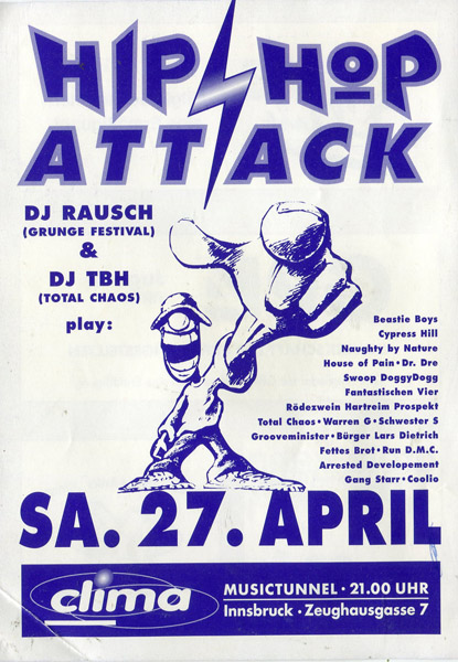 1991-04-27-ClimaClub-HiphopAttack-Rausch-DBH