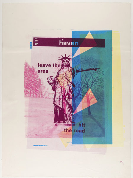 haven art auf makulaturpapier (made in ty1)