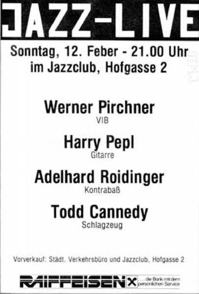 1978-02-12 - jazzclub - pirchner-pepl-rolidinger-canndey