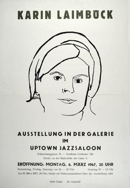 1967-03-06 - jazzsaloon - karin laimboeck ausstellung