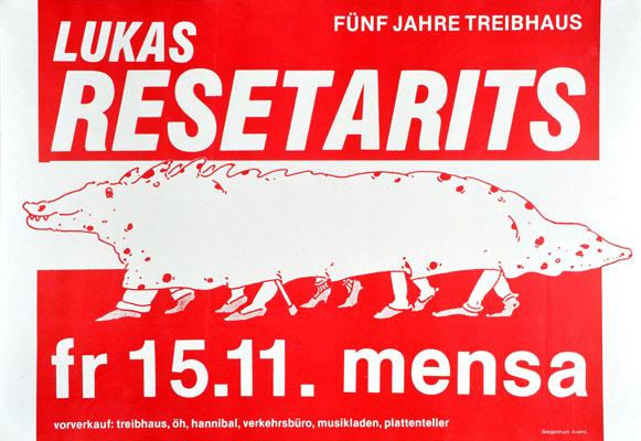 1985-11-15 - mensa - treibhaus - lukas resetarits