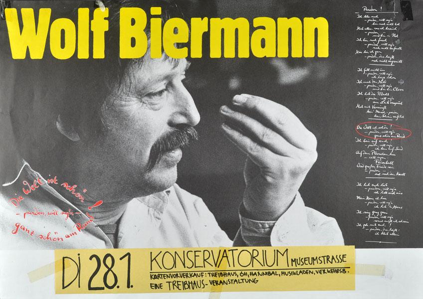 1986-01-28 - konservatorium - treibhaus - wolf biermann