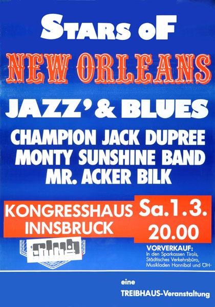 1986-03-01 - kongress - treibhaus - new orleans stars