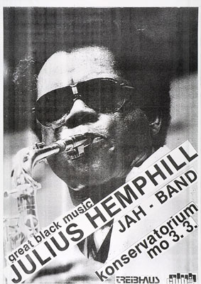 1986-03-03 - konservatorium - treibhaus - julius hemphill
