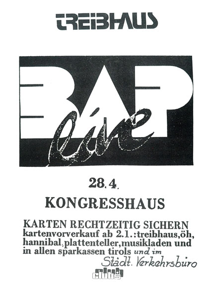 1986-04-28 - kongress - treibhaus - bap