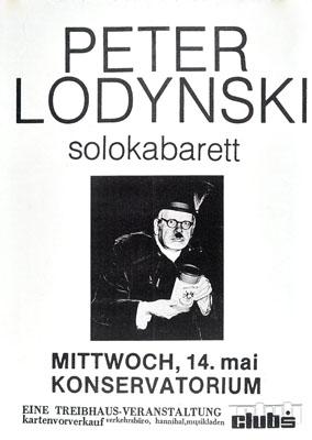 1986-05-14 - konservatorium - treibhaus - peter lodynski
