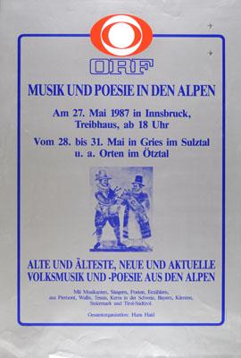 1987-05-27 - treibhaus - hans haid