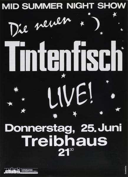 1987-06-25 - treibhaus - tintenfisch