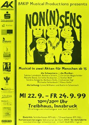 1999-09-22 - treibhaus - nonnsens - musical