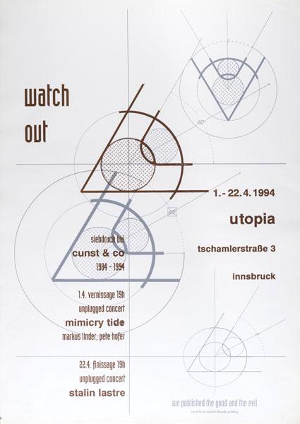 1994-04-01_utopia_cunst&co_watchout_mimicry tide_stalin laste_weiss