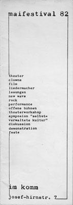 1982-05-01 - komm - maifestival