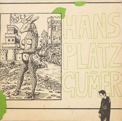 Hans Platzgumer - Tod Der CD - 1987