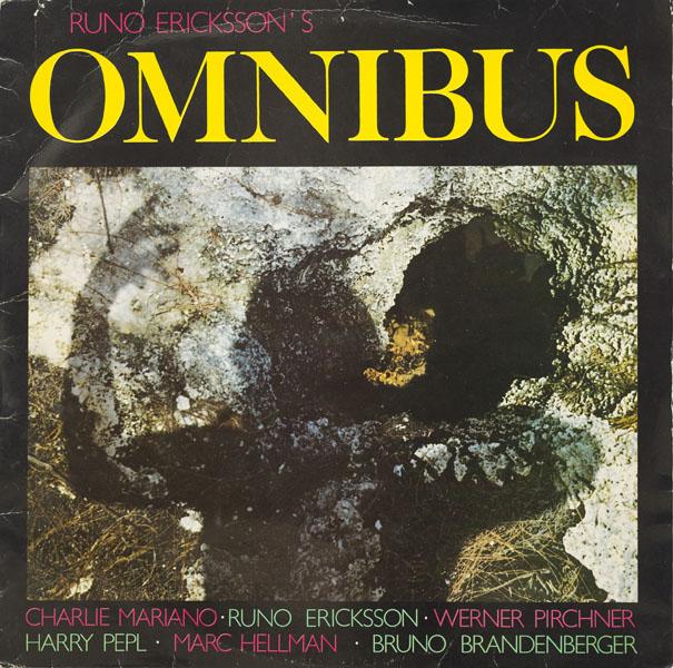 Omnibus - Runo Erickson - Pirchner Pepl - 1981