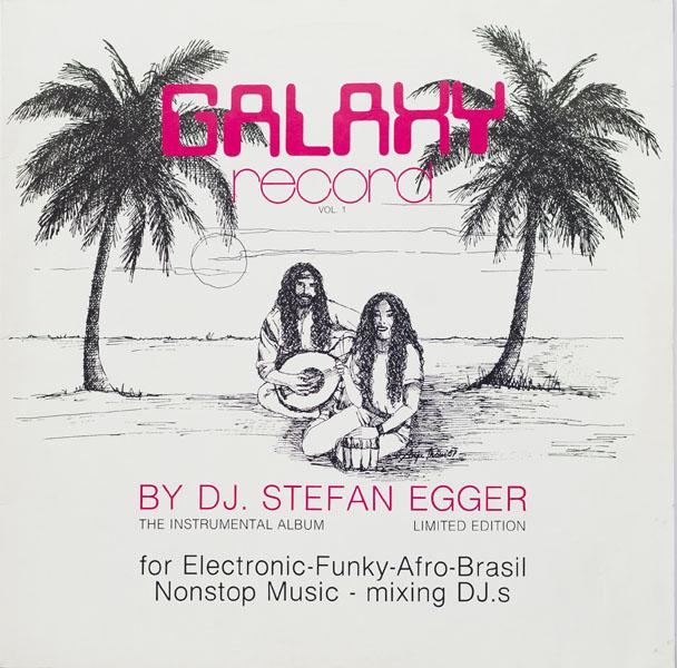 Stefan Egger - Galaxy Record - 1987