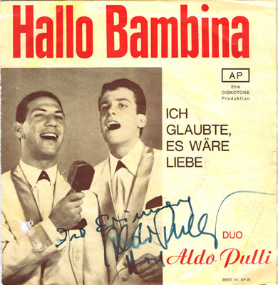 duo aldo pulli-hallo-bambina-1967