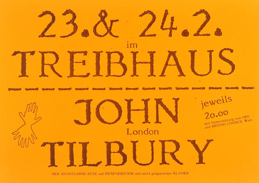 1987-02-23 - treibhaus - john tilbury
