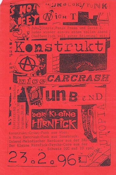 1996-02-23_utopia_konstrukt_nice carcrash_unbend_der kleine hirnfick