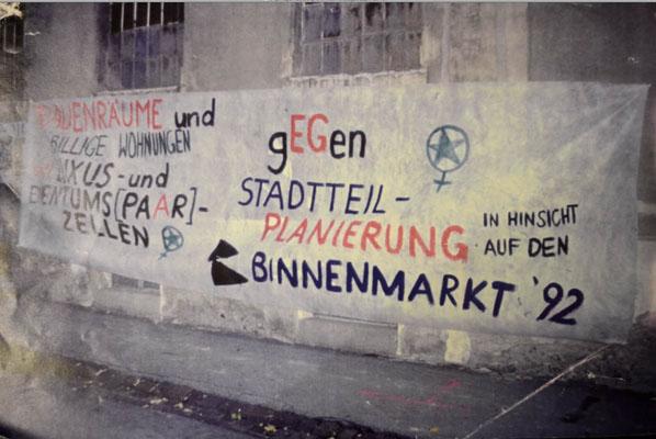 1992-eg-protest-gegen-wohungspolitik-fuer-frauenraeume
