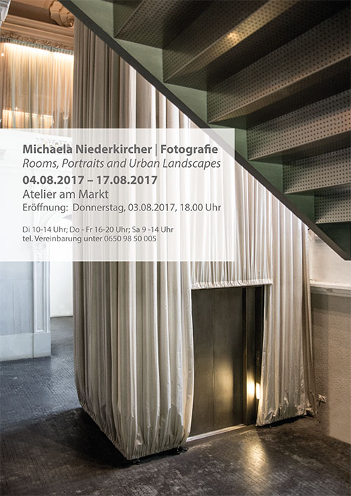 Rooms, Portraits and Urban Landscapes - michaela niederkircher - atelier am markt, gmunden