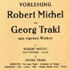 Georg Trakl Gedichte
