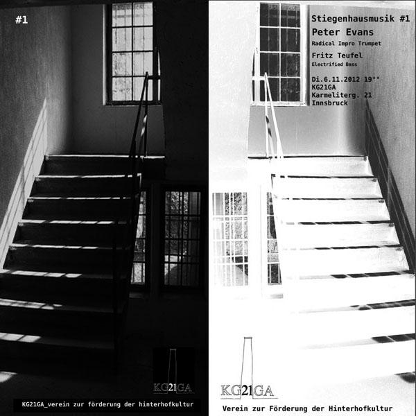 Stiegenhausmusik #01 - Flyer