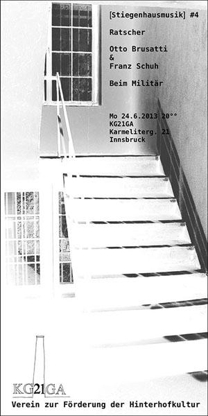 Stiegenhausmusik #04 - Flyer