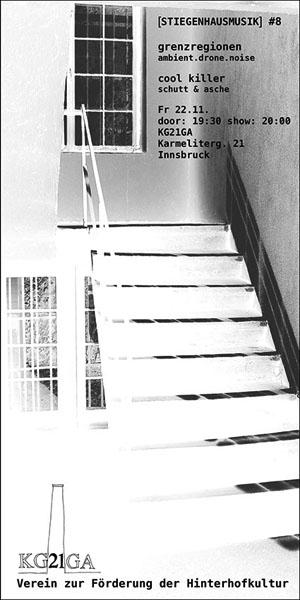 Stiegenhausmusik #08 - Flyer