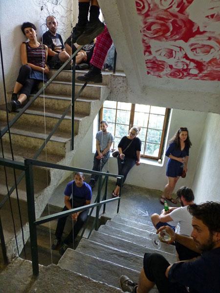 Stiegenhaus -3
