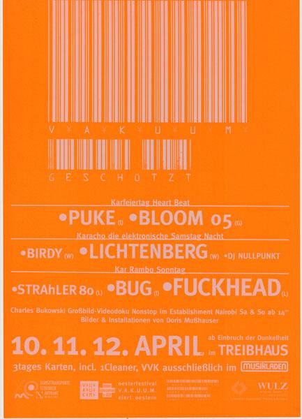 1998-04-10_treibhaus_vakuum_puke_bloom 05_lichtenberg_strahler 80_bug_fuckhead_2