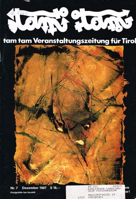 Tam Tam Nr. 7 - Dezember 1987