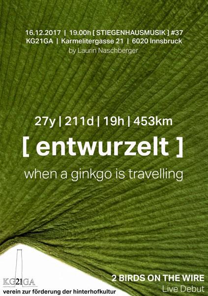 Stiegenhausmusik #37 - Flyer