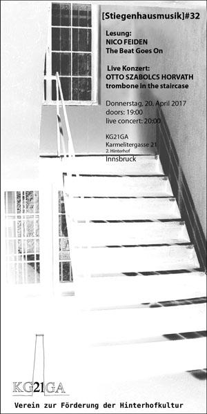 stiegenhausmusik #32 - flyer
