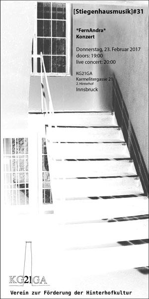 stiegenhausmusik #31 - flyer