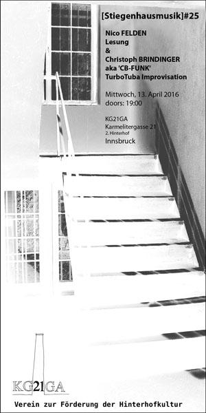 stiegenhausmusik #25 - flyer