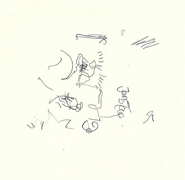 [STIEGENHAUSMUSIK] #49 - Blinde Zeichnung 5