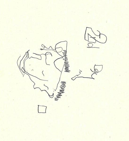[STIEGENHAUSMUSIK] #49 - Blinde Zeichnung 6