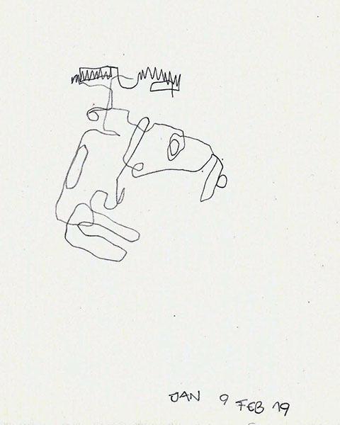 [STIEGENHAUSMUSIK] #49 - Blinde Zeichnung 7