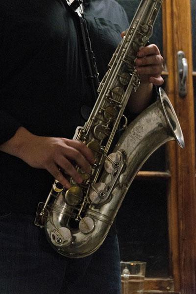 [Stiegenhausmusik] #59_Saxophon